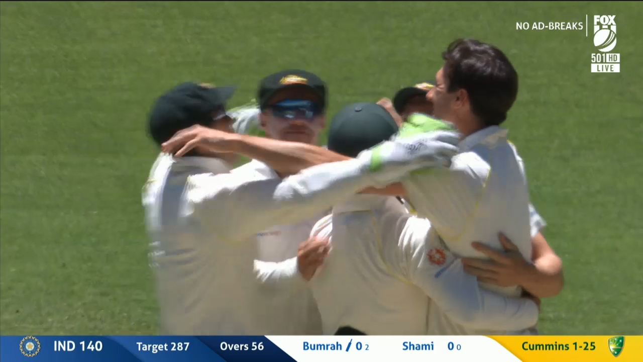 Aussies win second Test in Perth