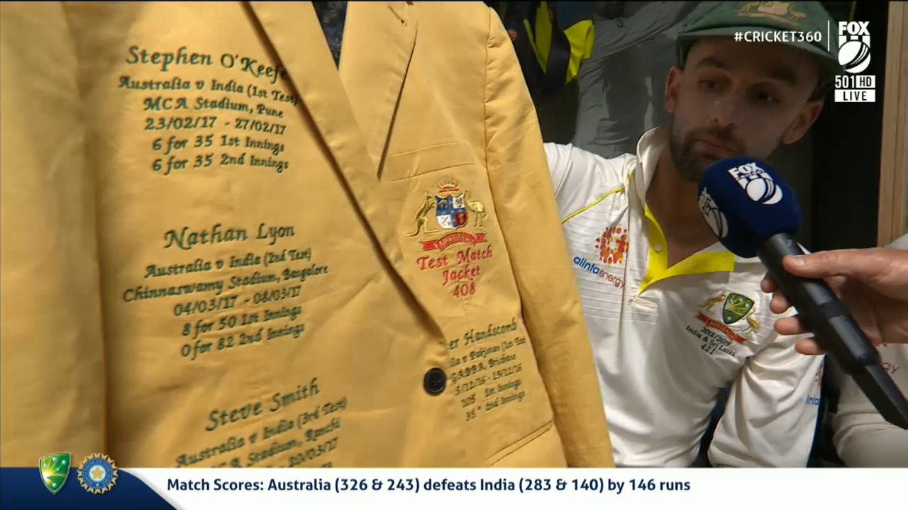 Aussies' new dressing room tradition