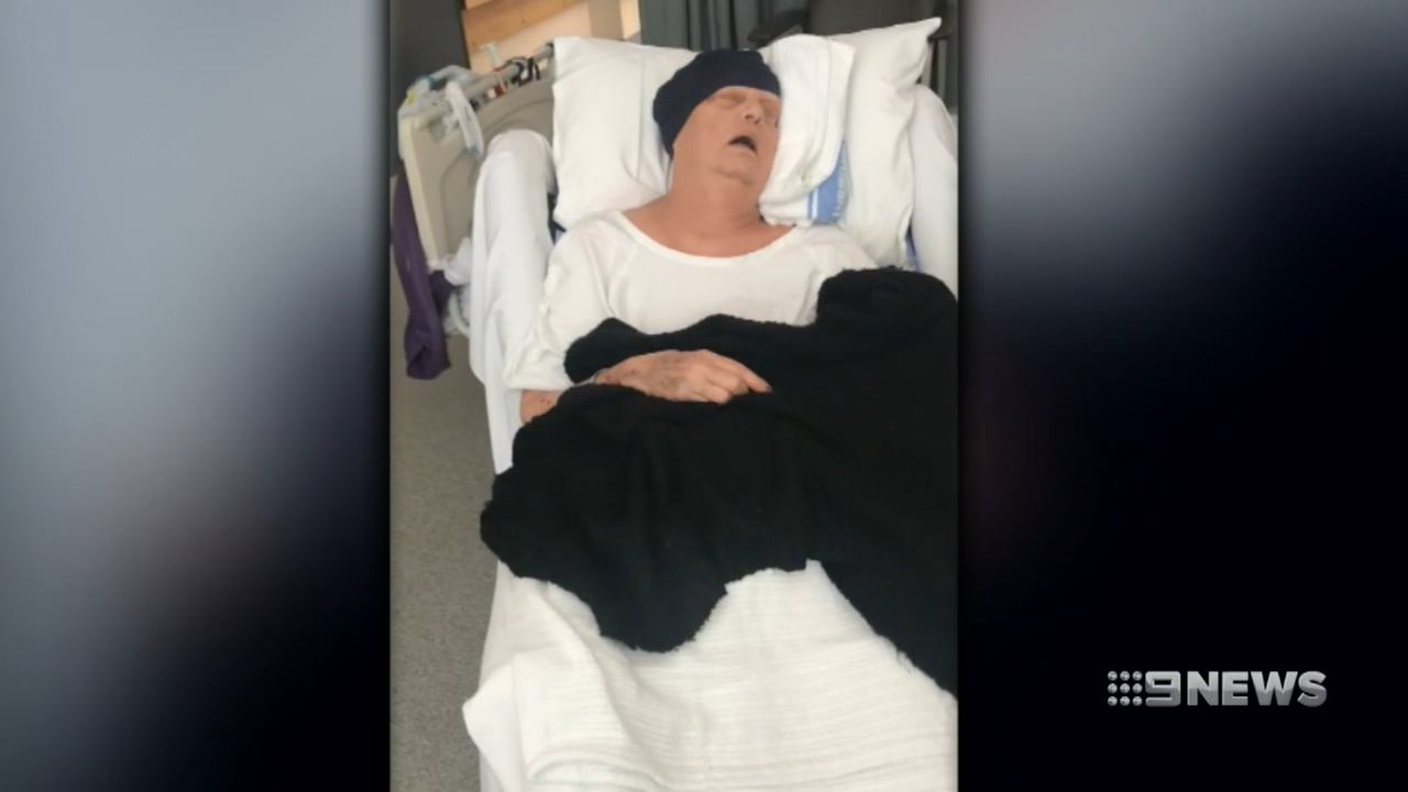 Terminal grandmother stranded 4,000km from home
