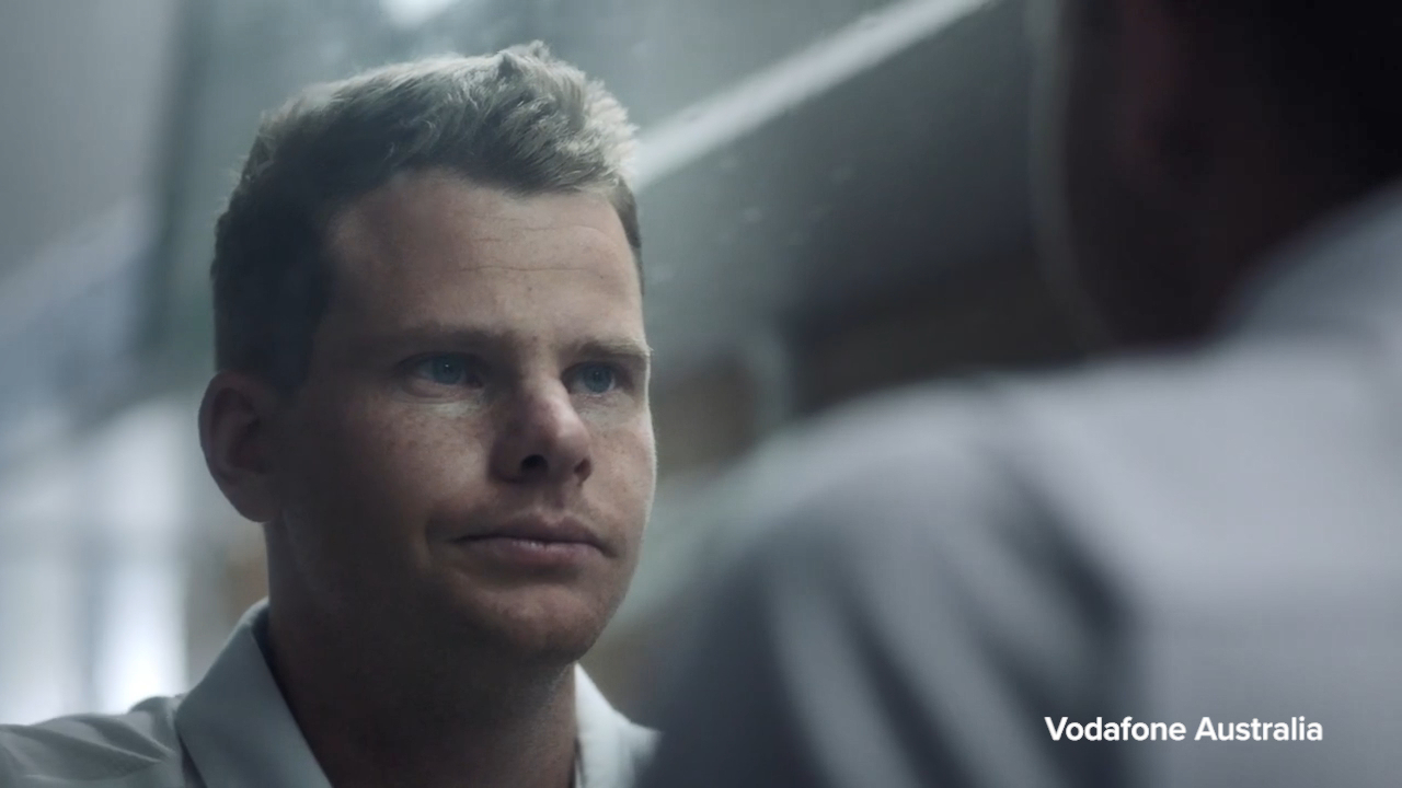 Steve Smith appears in new ad