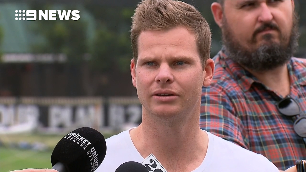 Smith said he's had 'tough' days since ban