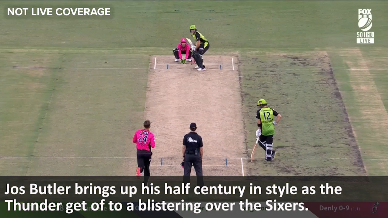 Buttler brings up his 50
