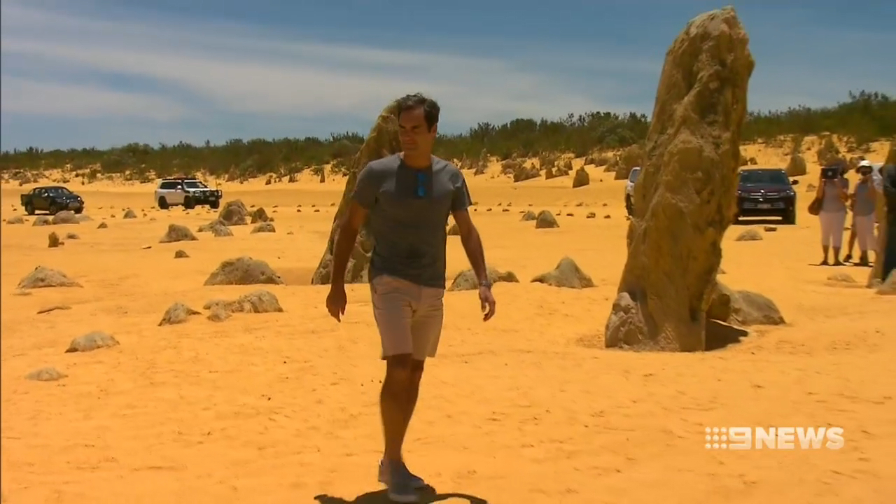 Federer, Murray touch down in Australia