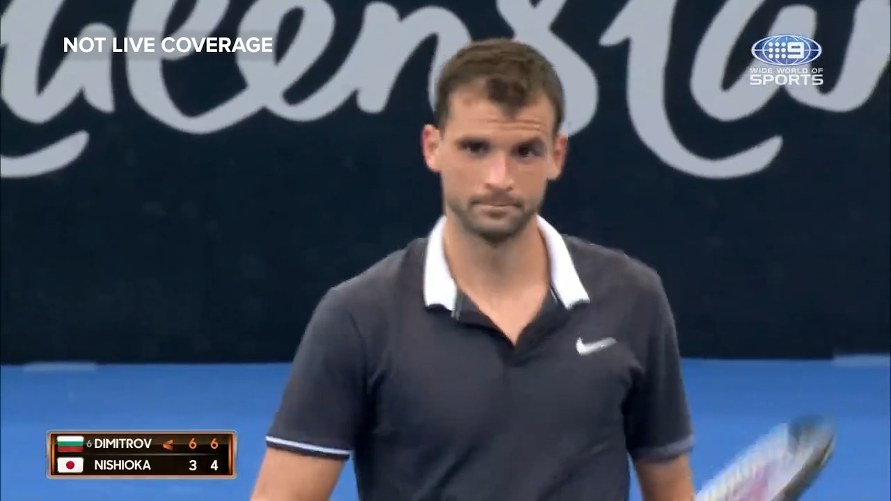 Dimitrov takes care of business
