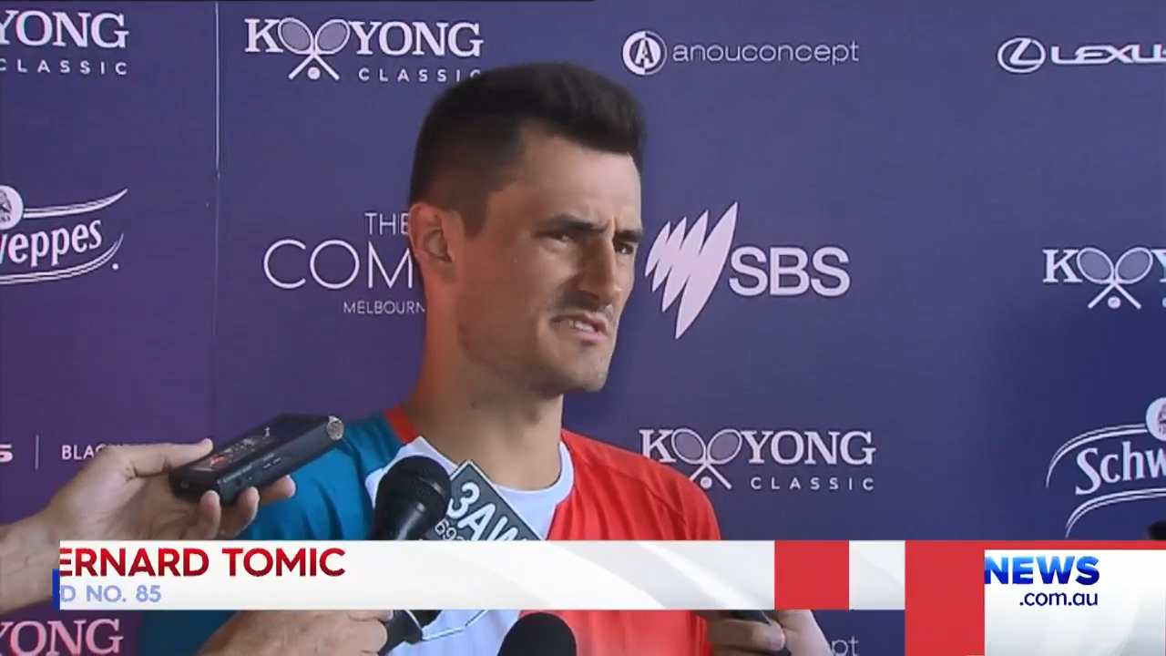 Tomic unconvinced by new Aus Open balls