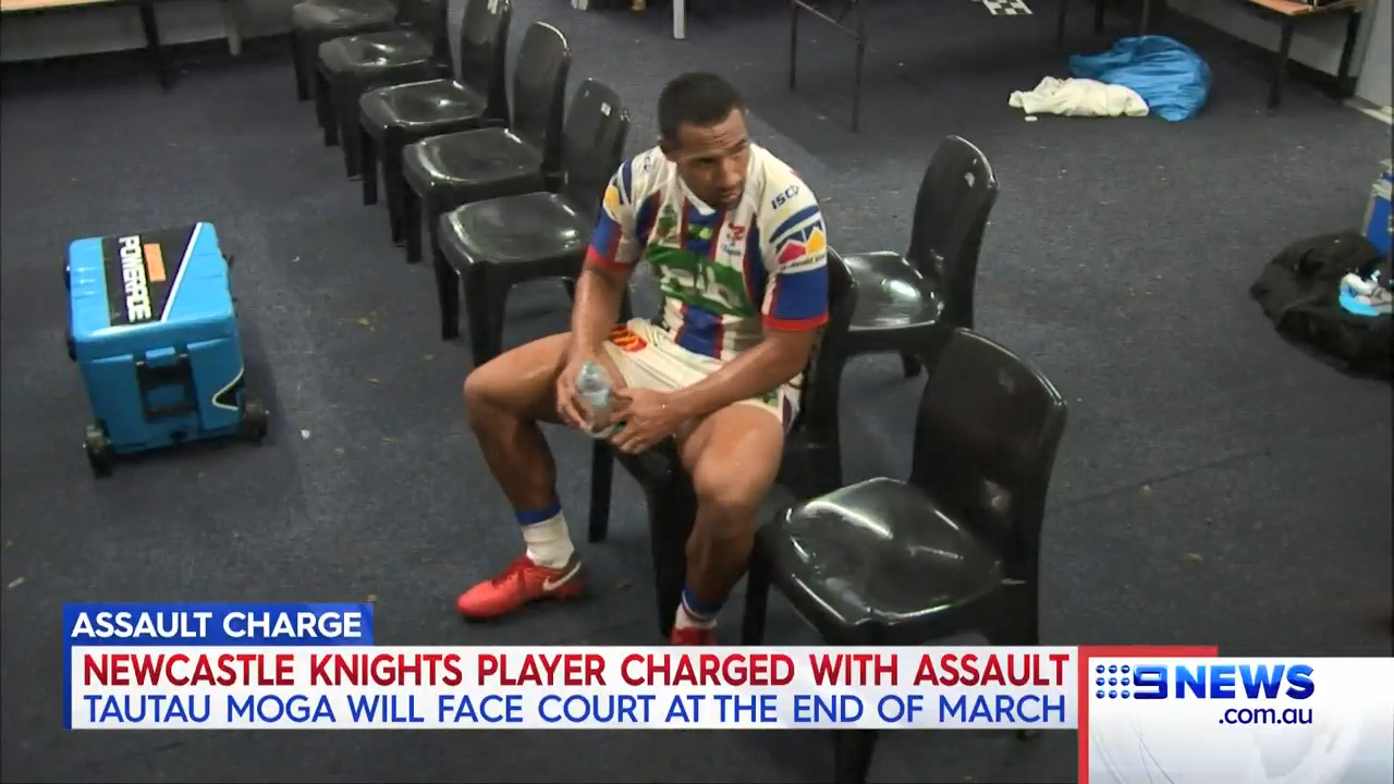 Knights star charged with assault