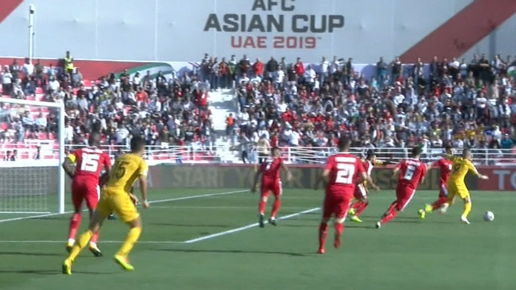 Socceroos defeat Palestine