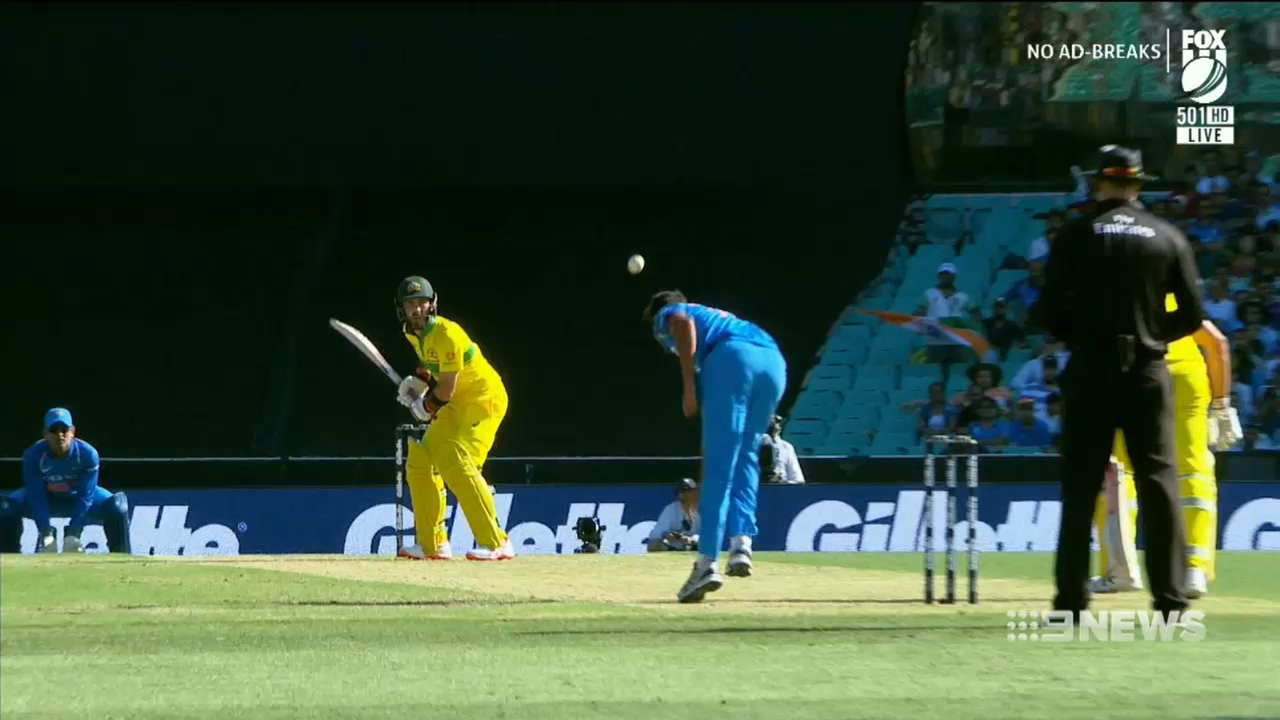 Indian bowler's action under microscope
