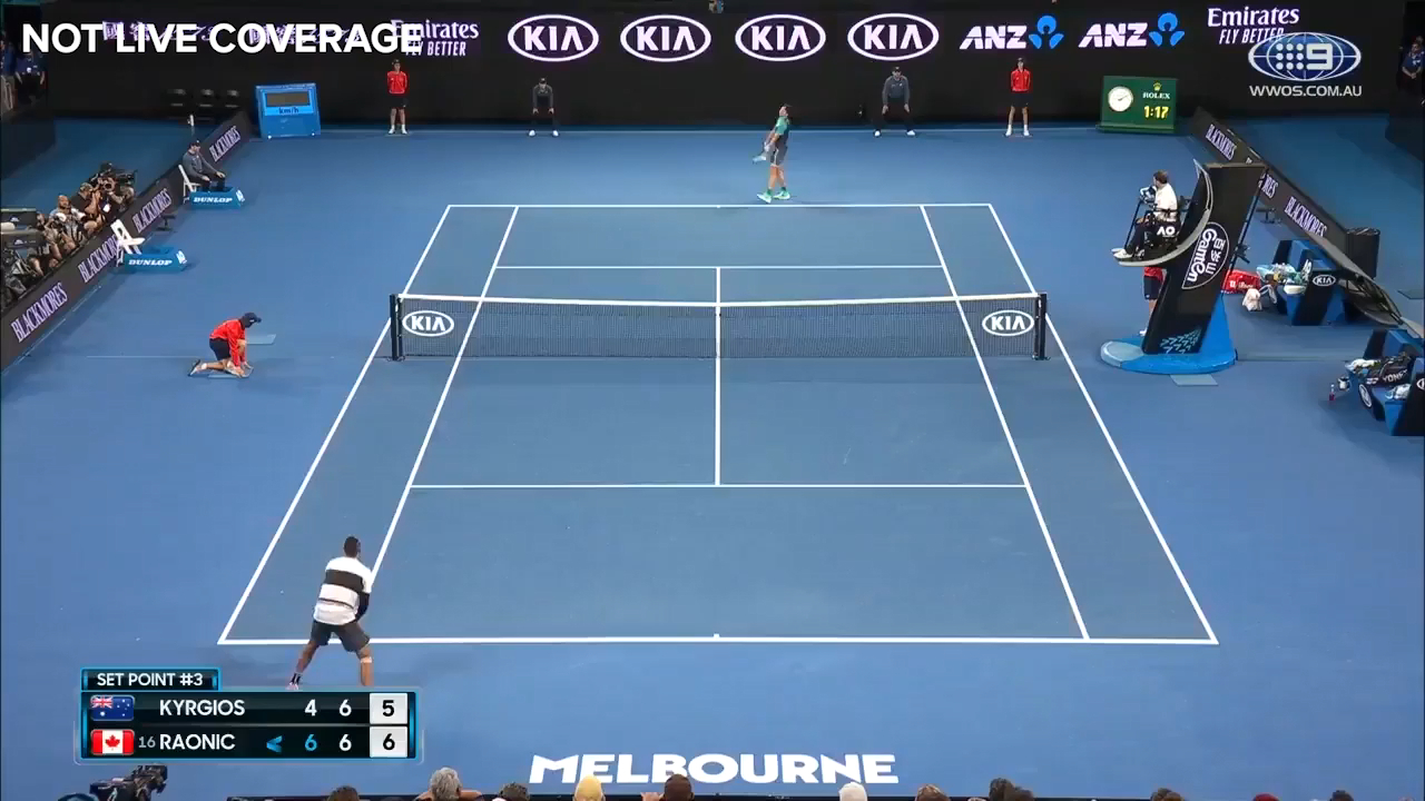 Raonic claims the second