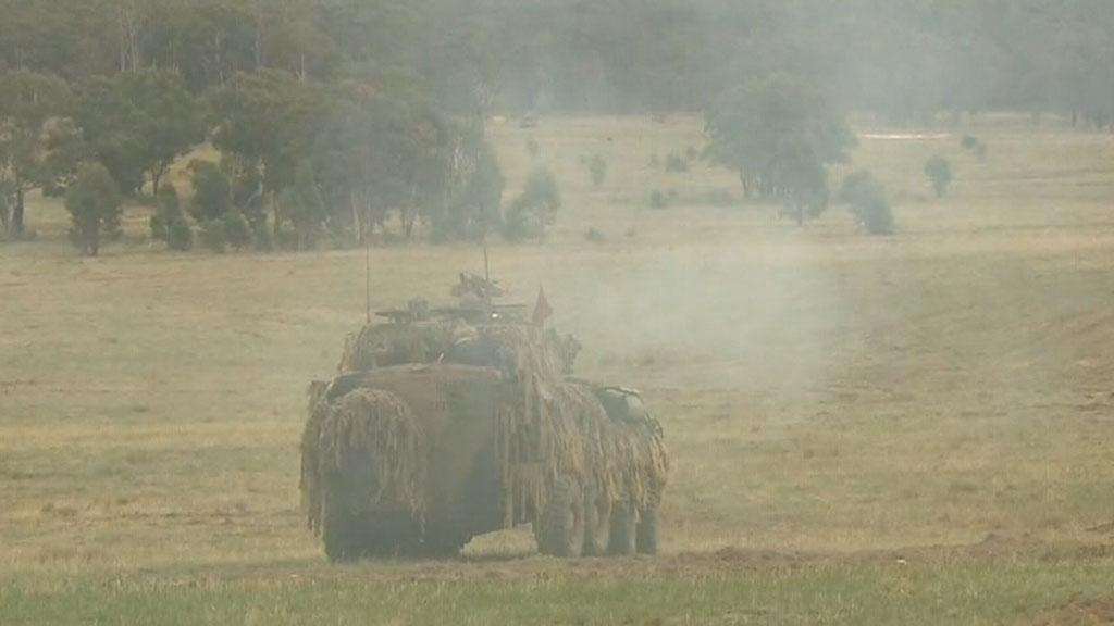 An Australian soldier died during a training exercise