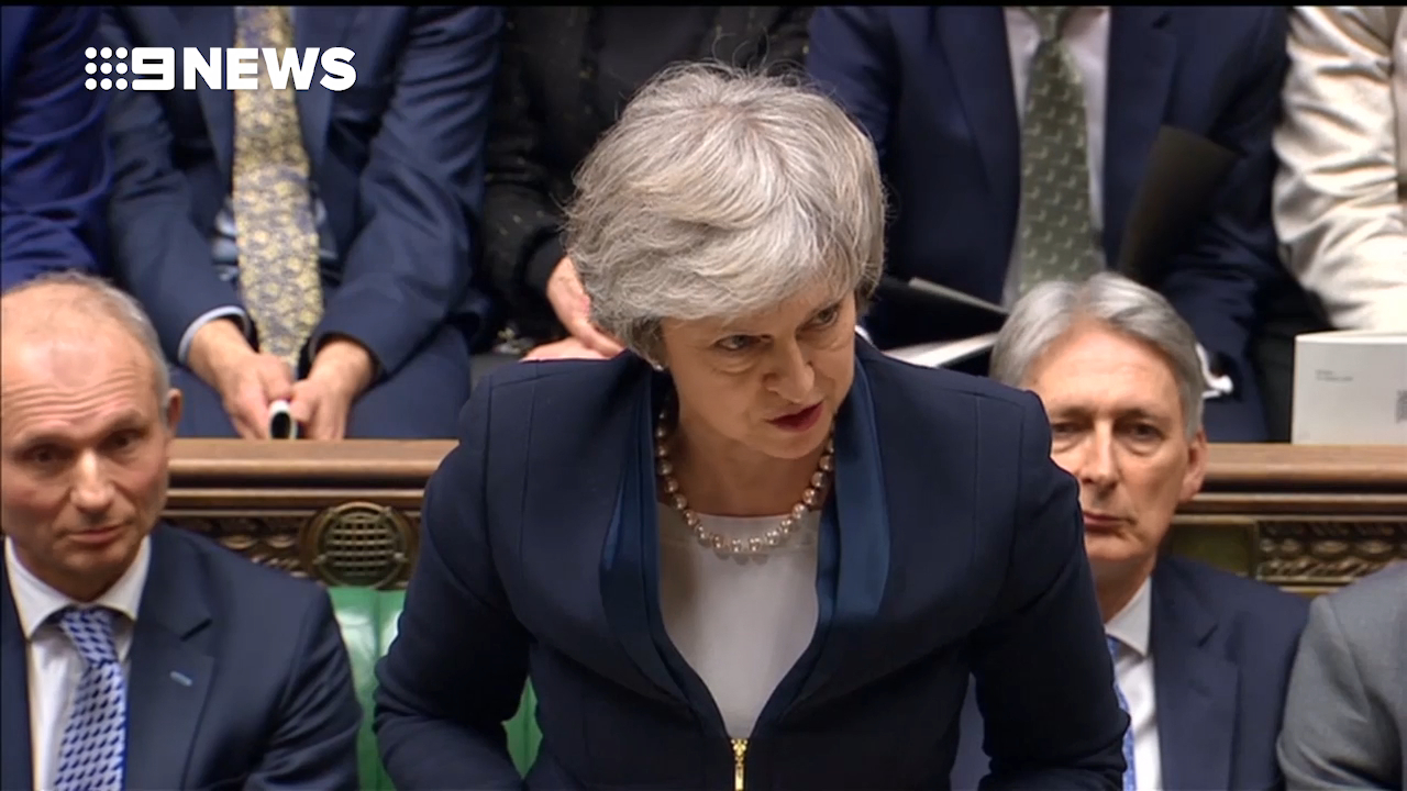 Brexit deal voted down in historic loss for Theresa May