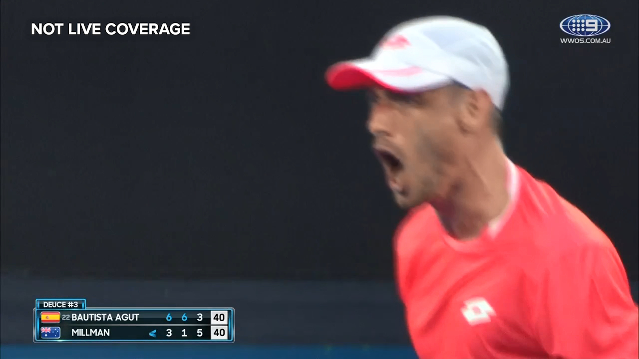 Crowd goes nuts as Millman comes back