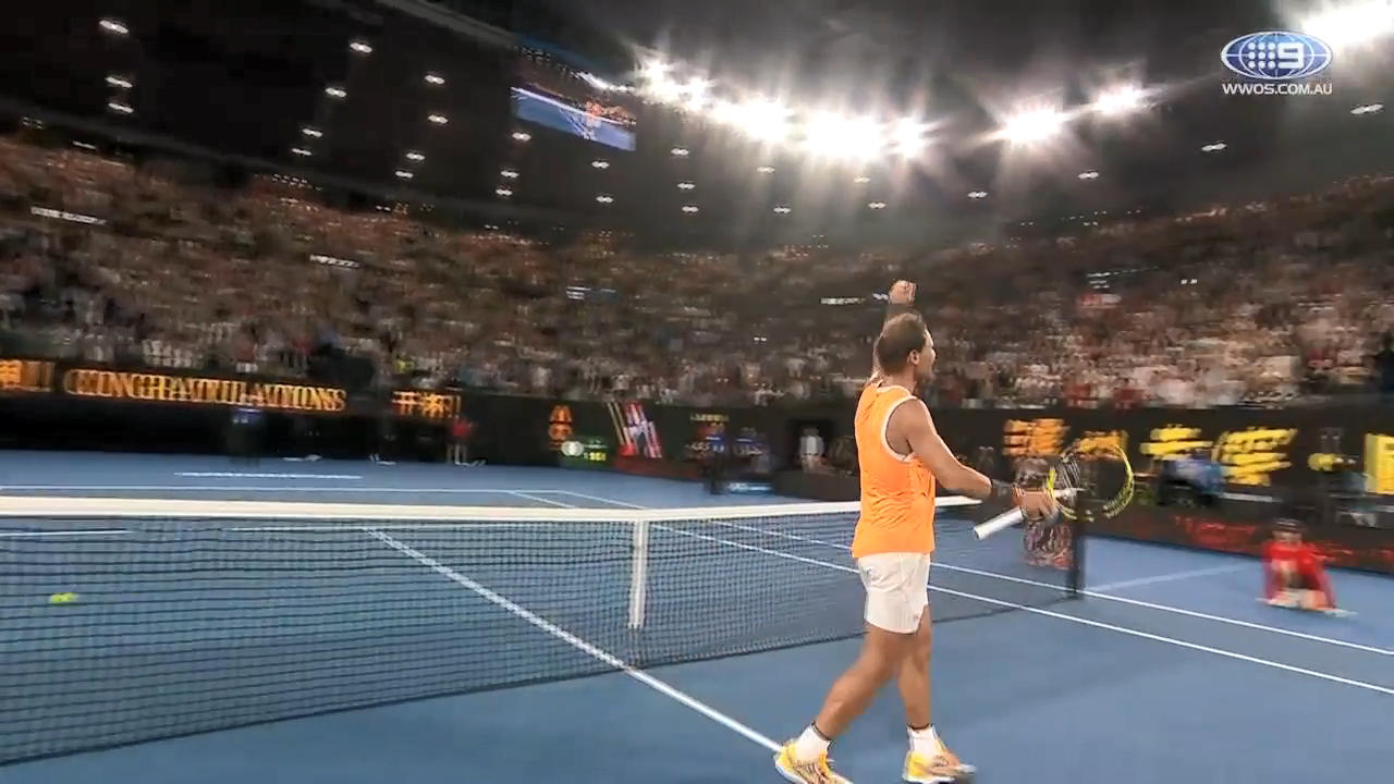 Nadal finishes off Ebden