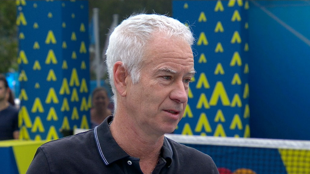 McEnroe speaks on De Minaur