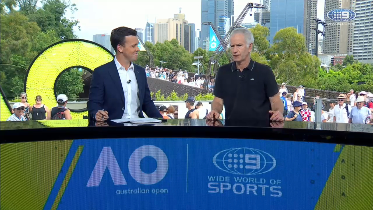 McEnroe speaks on Kyrgios