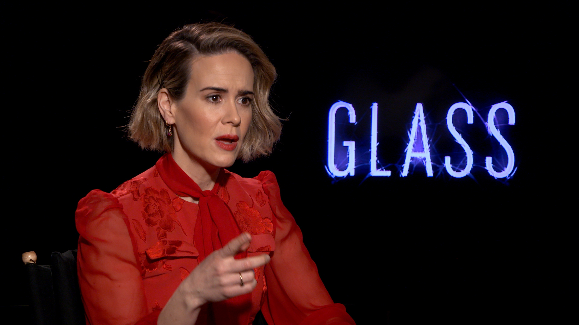 Sarah Paulson on finding creativity through terror