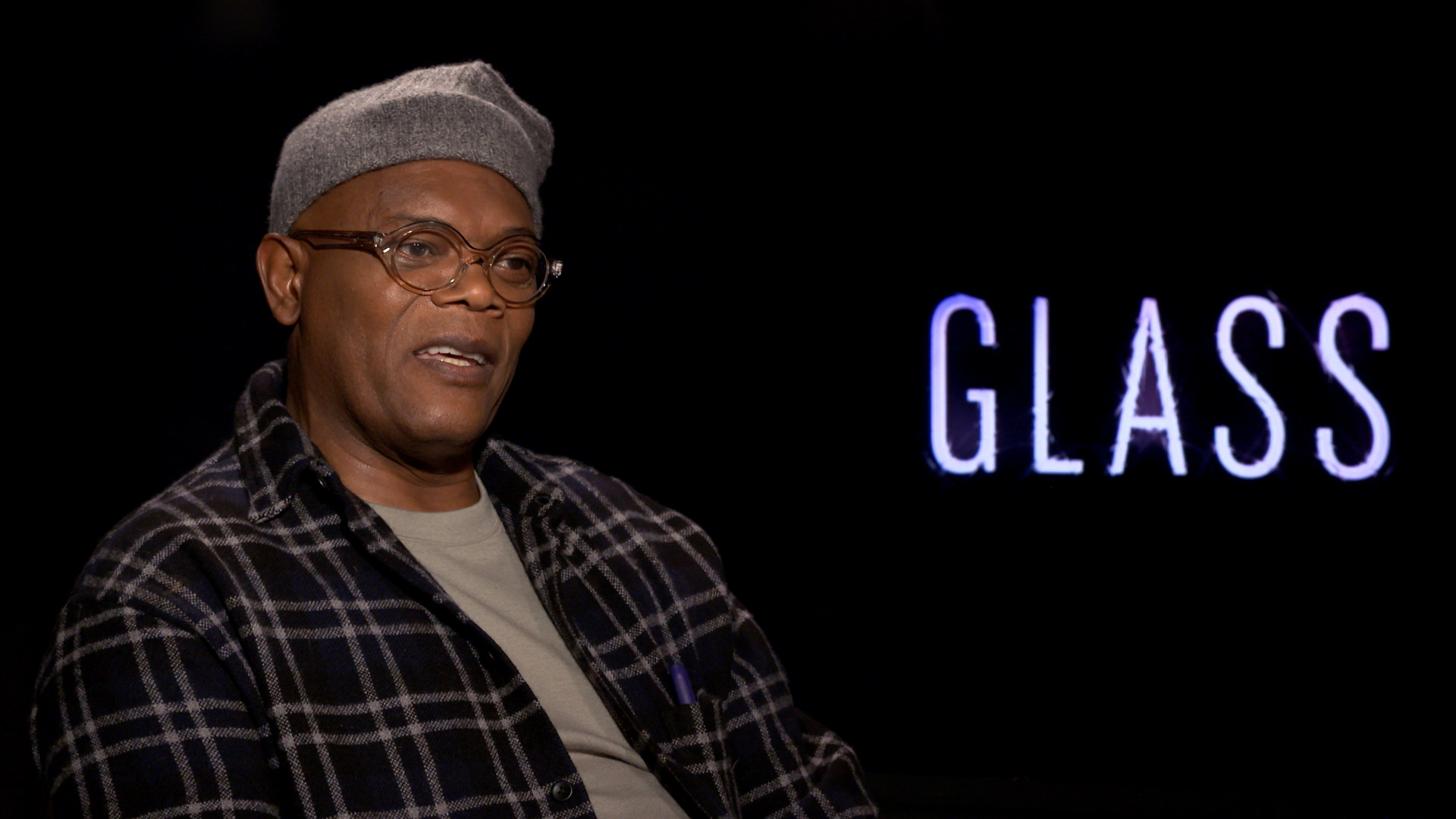 Samuel L. Jackson talks real-life superheroes in 'Glass'