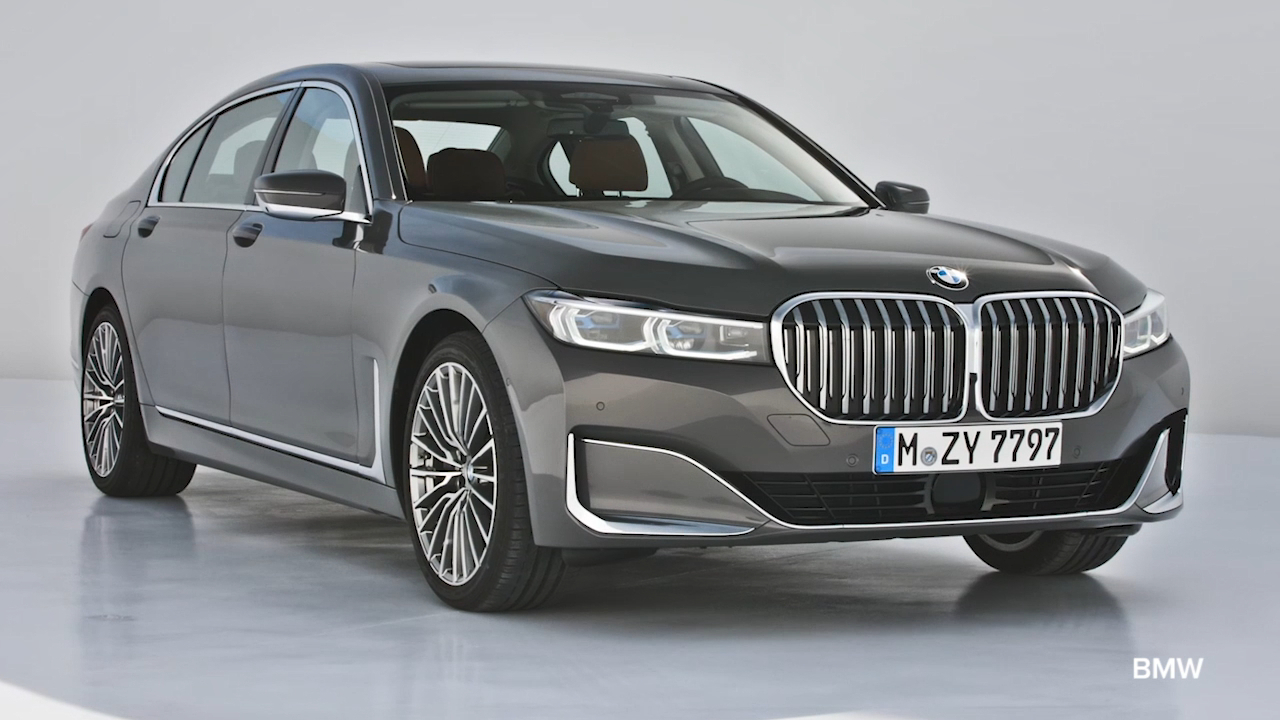 BMW unveils flagship 7 Series model for 2019