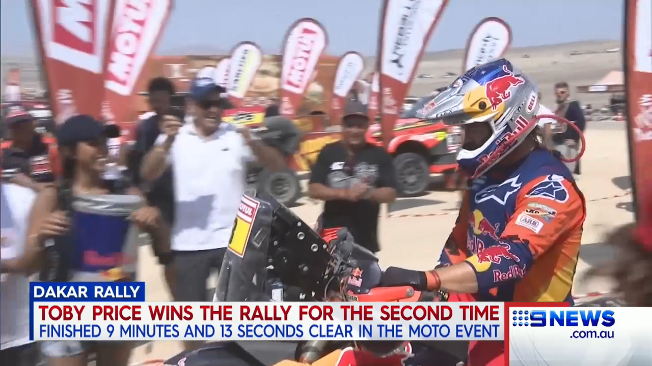 Price wins Dakar Rally