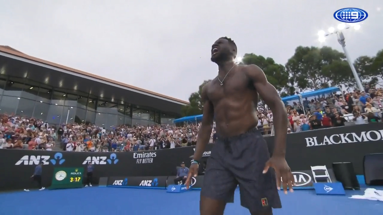 Tiafoe channels LeBron after win