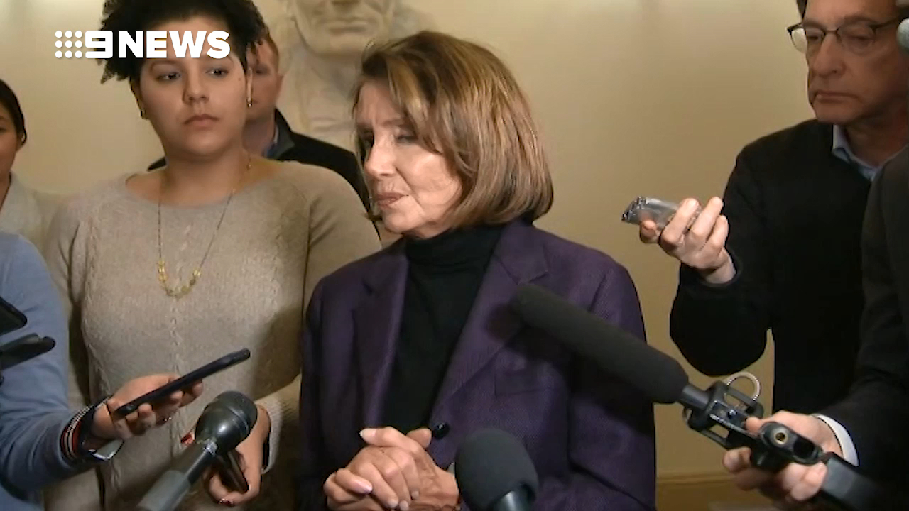 Nancy Pelosi cancels Afghanistan trip citing Trump 'leak'