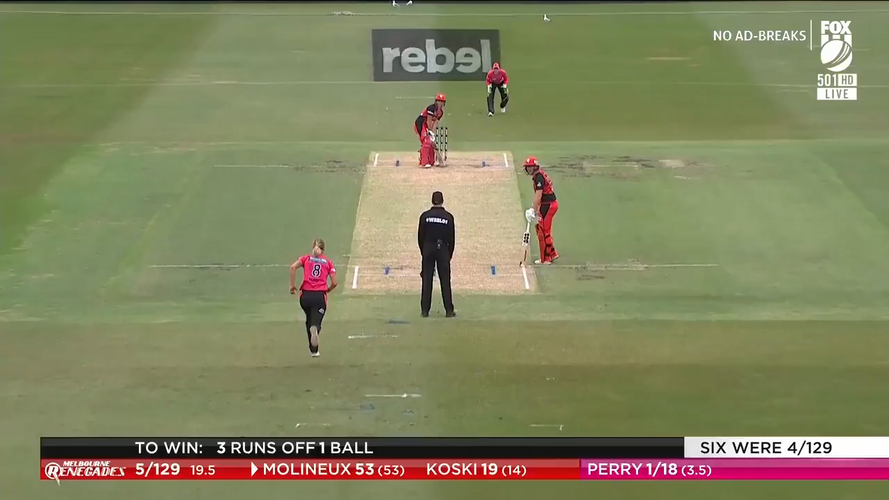Sixers' stunning WBBL victory