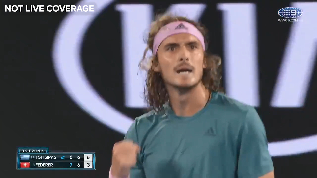 Tsitsipas claims the second