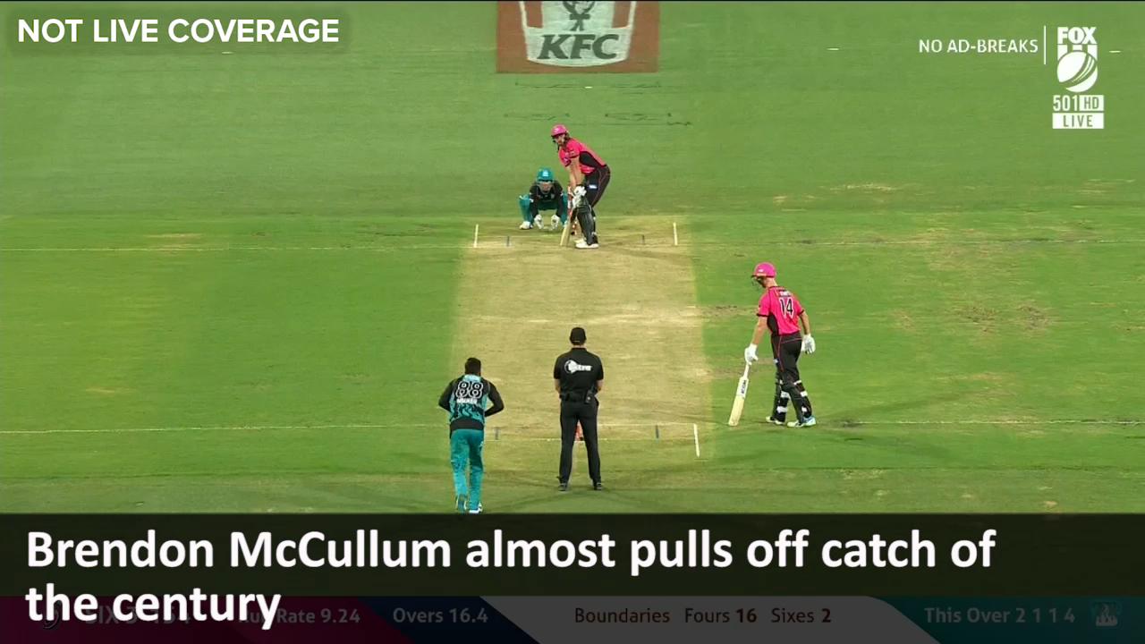 McCullum's near epic catch