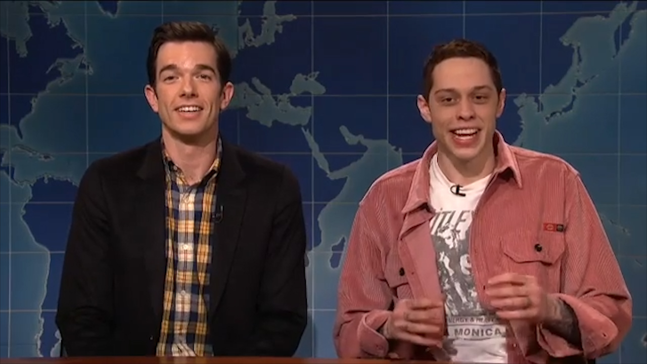 Pete Davidson addresses his suicide threat on 'Saturday Night Live'