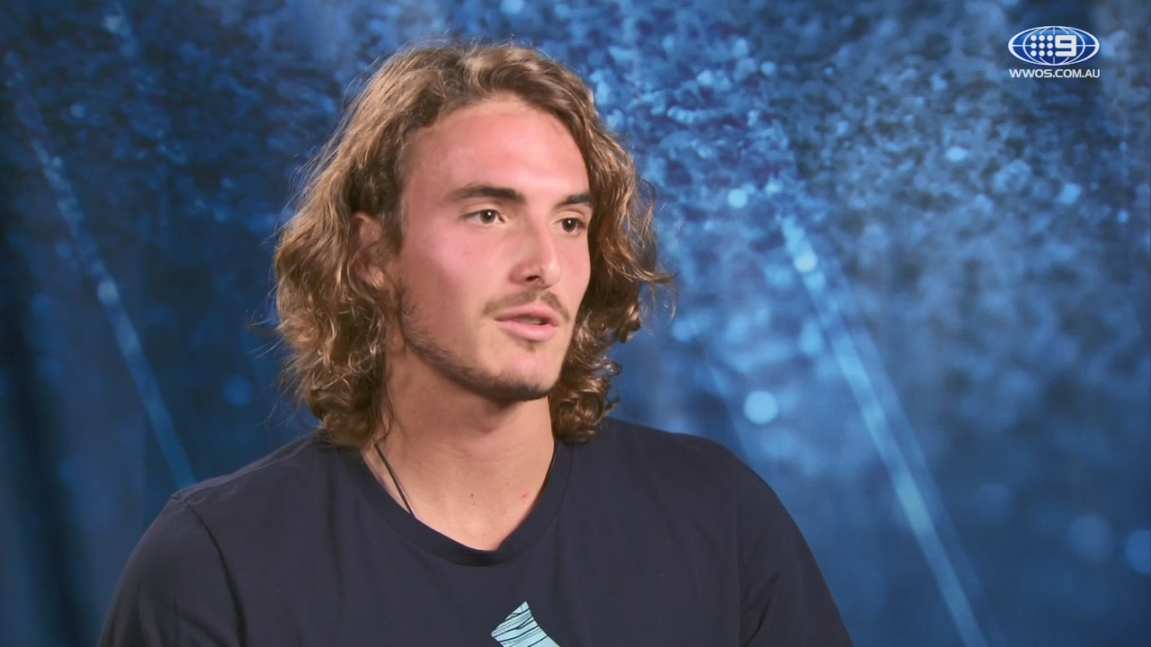 Tsitsipas almost played for Australia