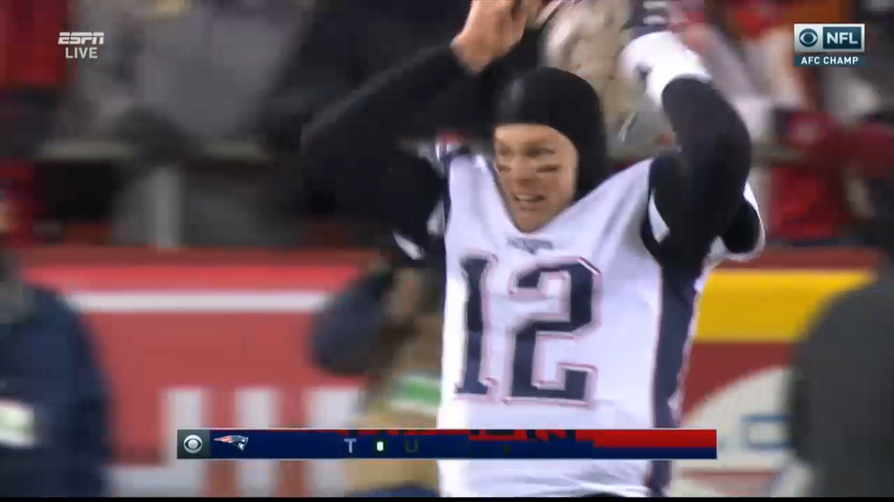 Patriots beat Chiefs in OT to make Super Bowl