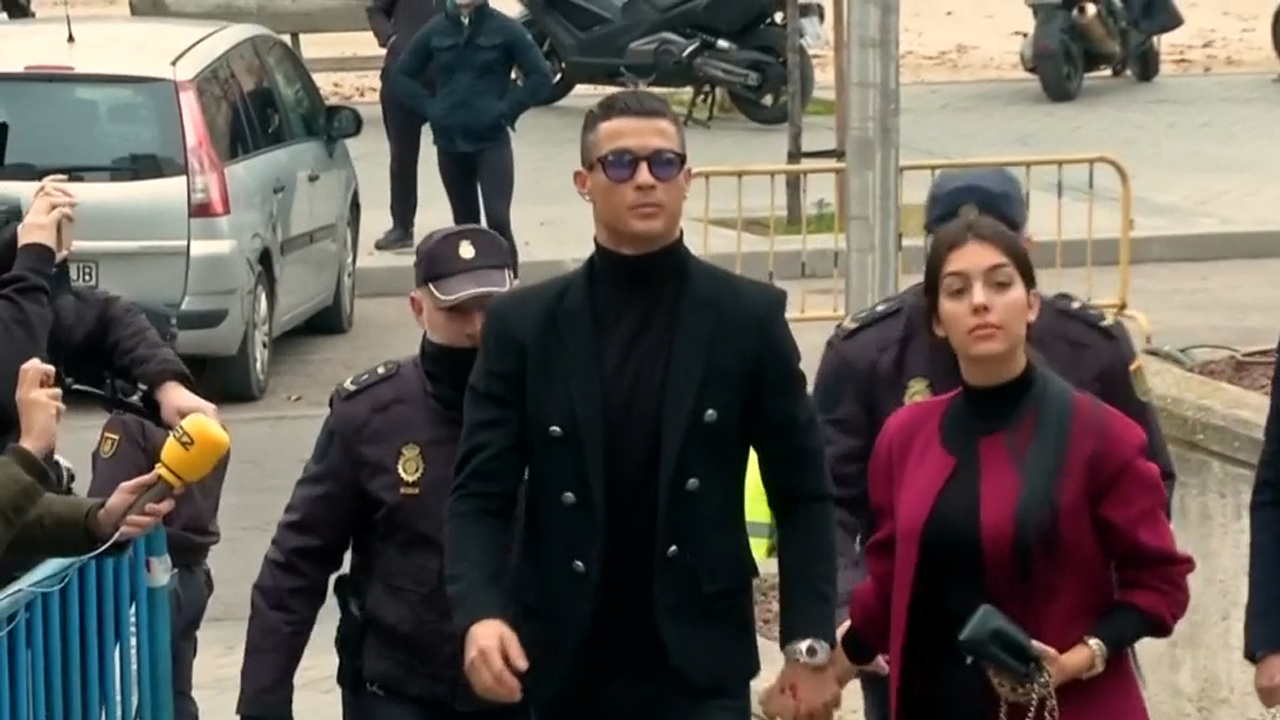 Cristiano Ronaldo pleads guilty to tax fraud in Spain