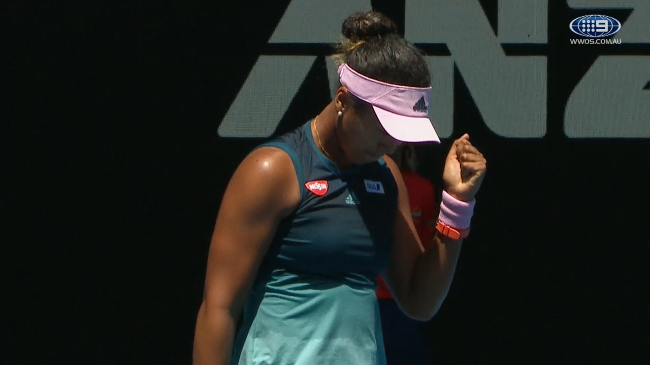Osaka into Aus Open semis