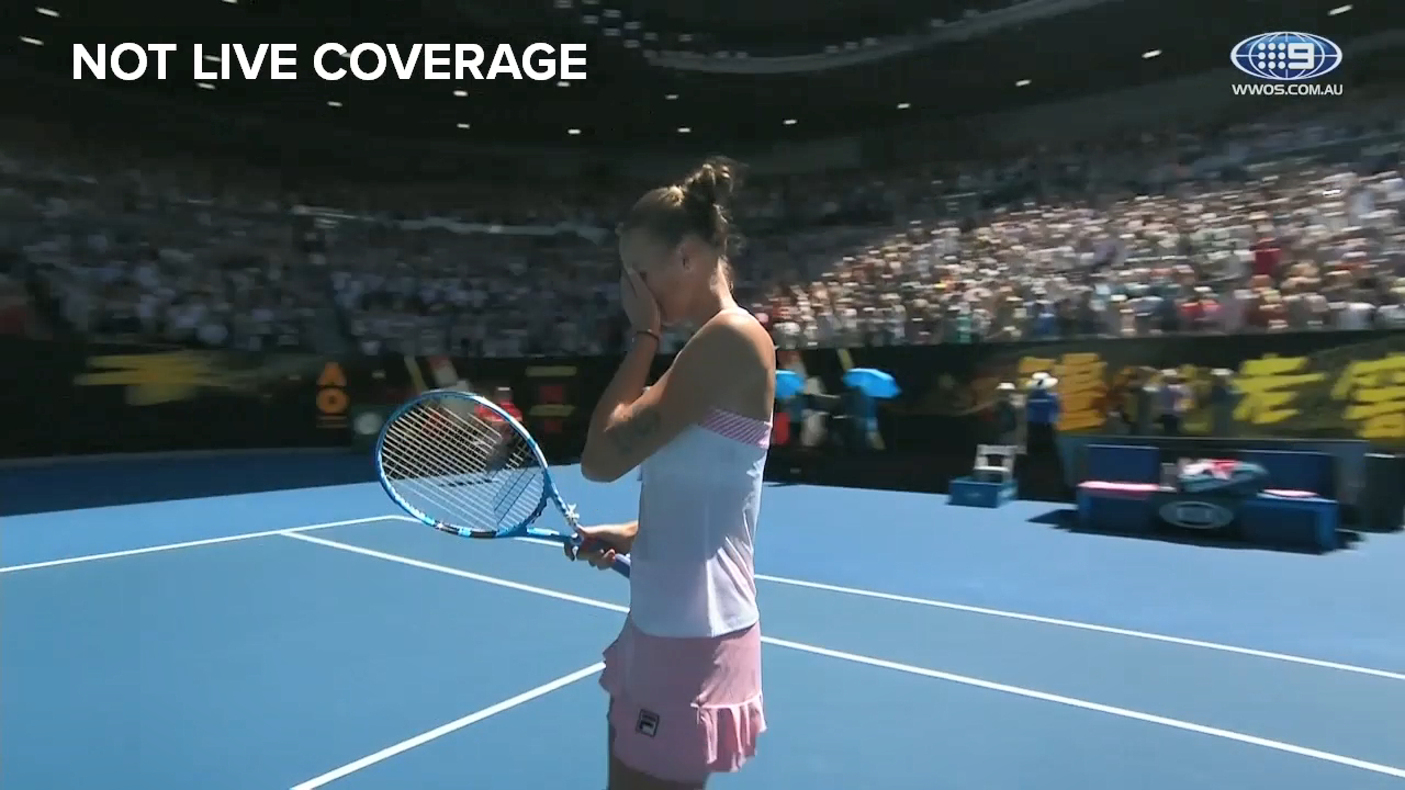 Pliskova scores massive come back win