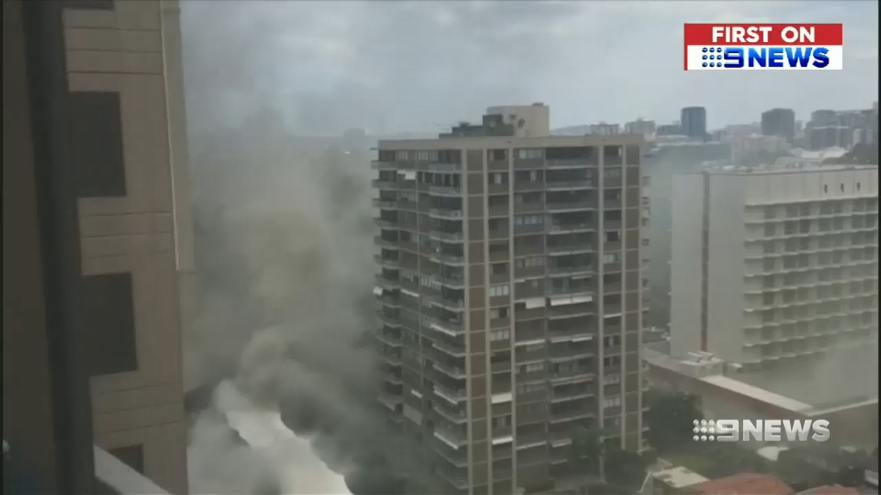 Popular Brisbane pub goes up in smoke