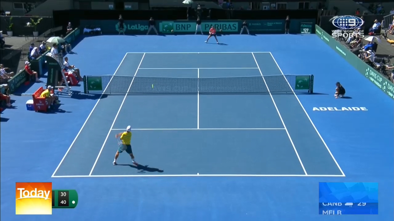 Aussies eye Davis Cup tie win