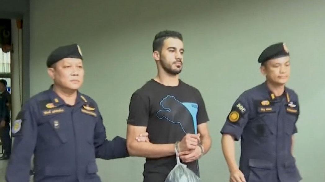 Australian refugee footballer stuck in Thai prison