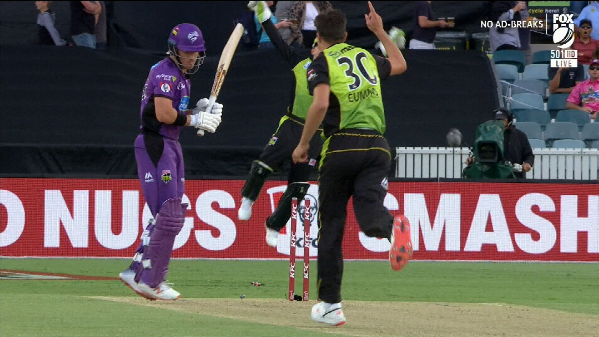 Cummins continues form spike in BBL