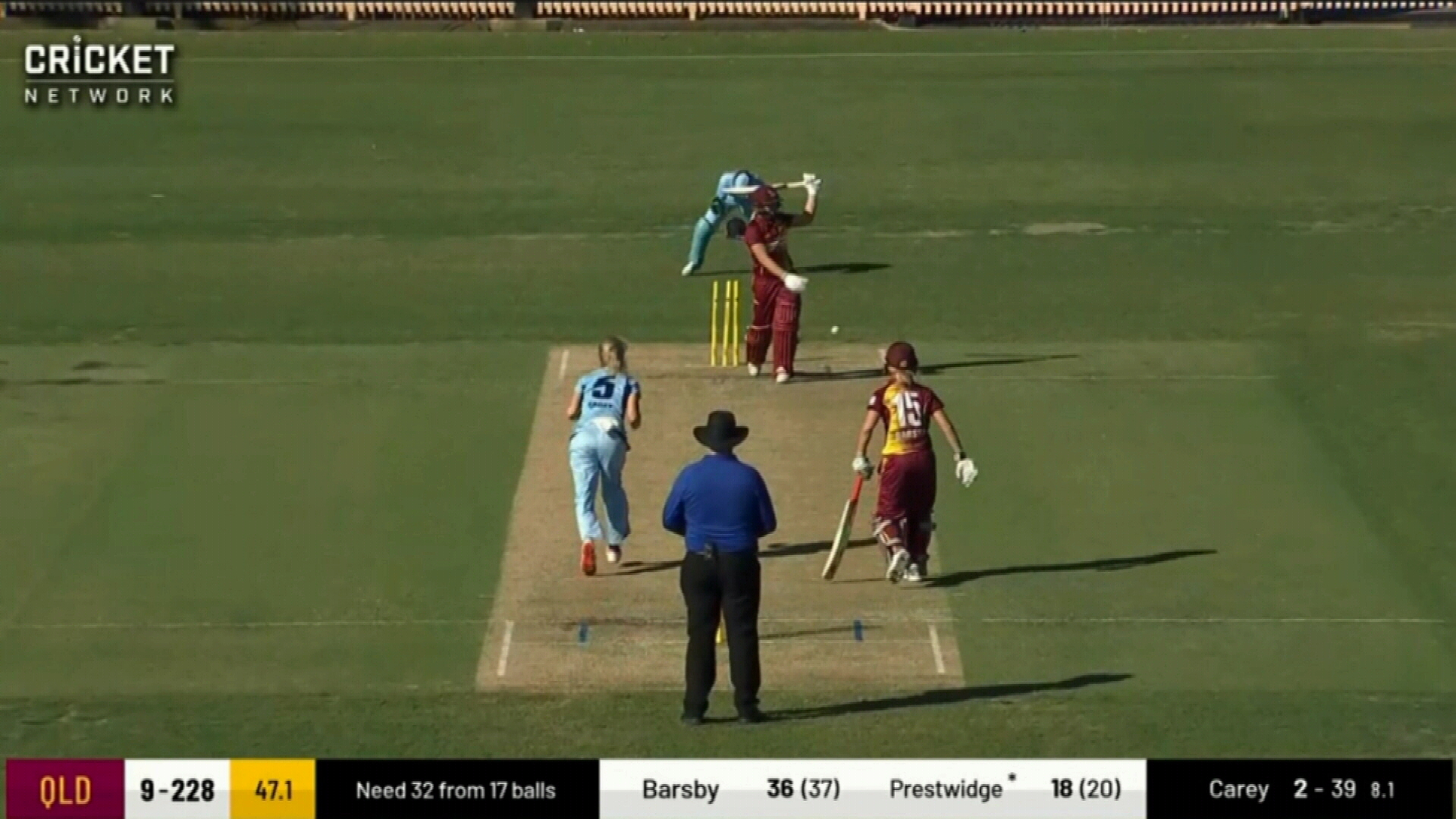 NSW beat Queensland to win one-day title