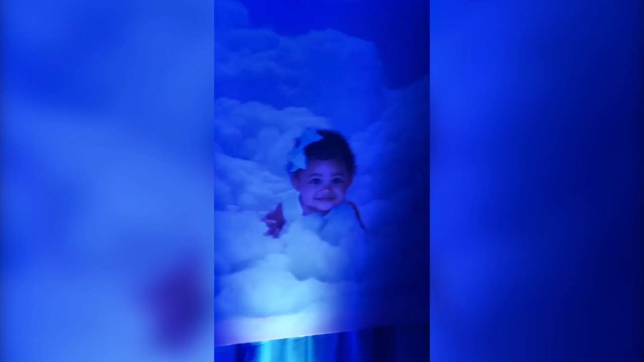Kylie Jenner creates a blue room for Stormi's first birthday party