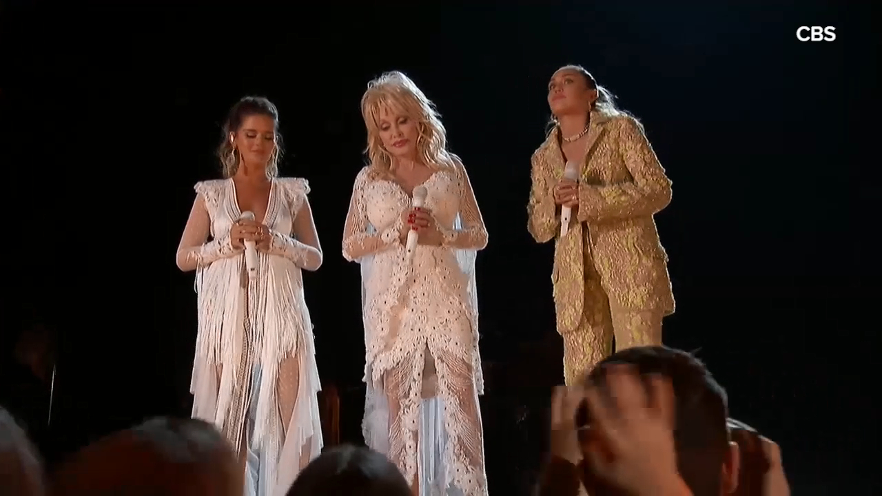Musicians honour Dolly Parton at 2019 Grammys with performance