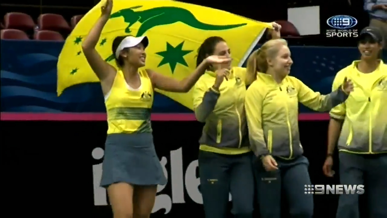Queensland tennis shines in Fed Cup