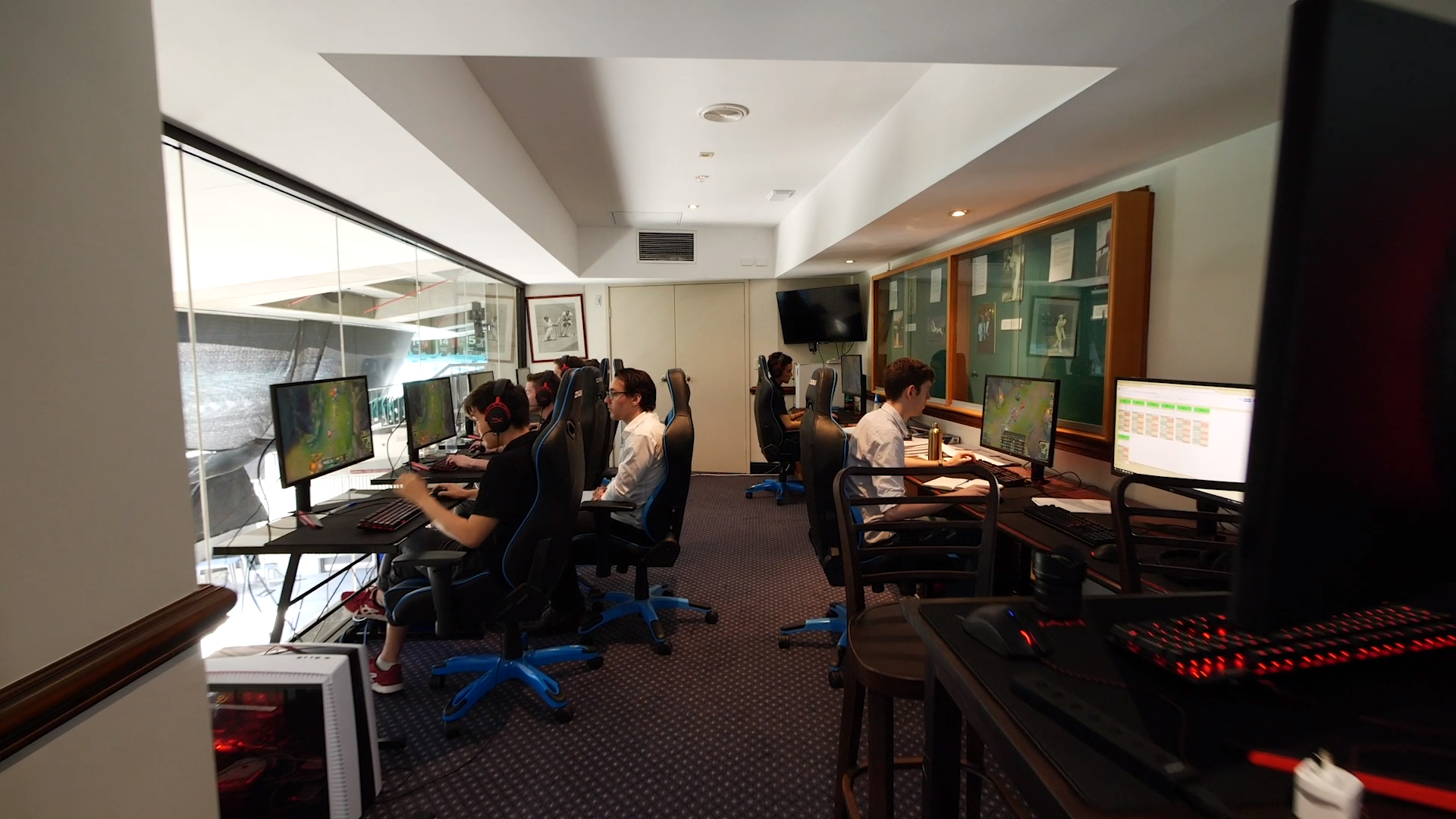 Esports High Performance Centre opens at the SCG