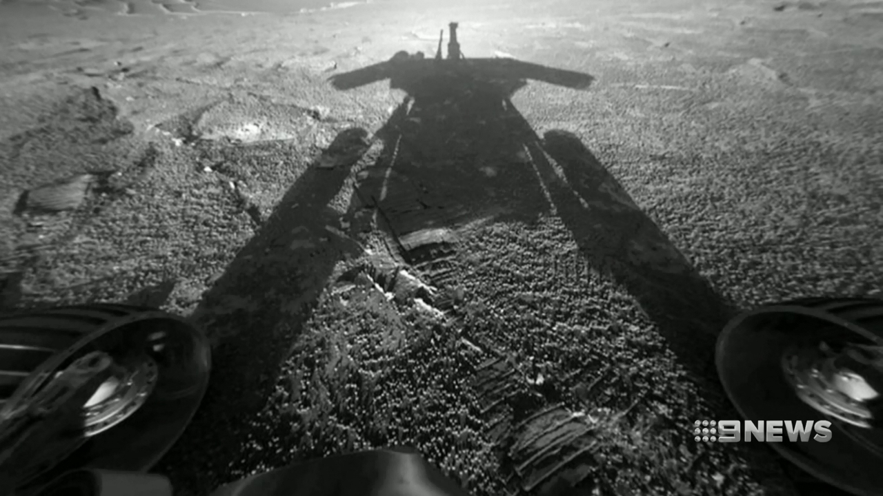 mars rover dying - photo #11