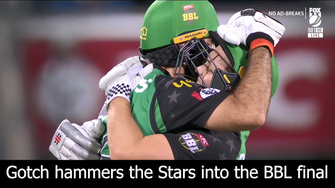 Gotch puts Stars into the final