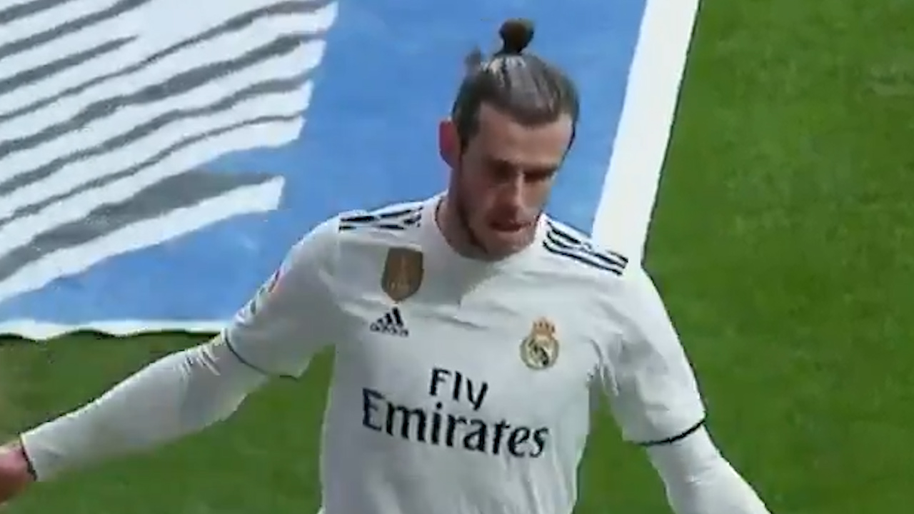 Bale in hot water over goal celebration