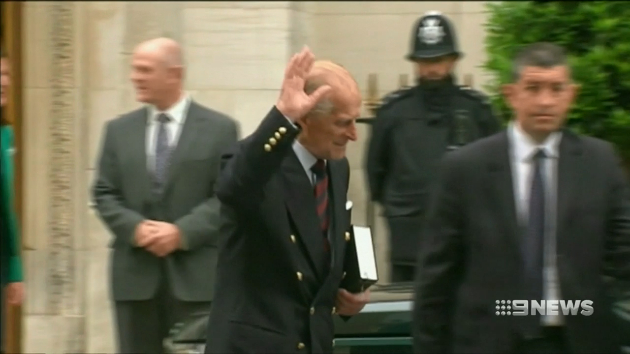 Prince Phillip excused over car crash