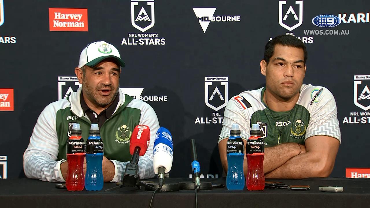 NRL Press Conference: Maori All Stars