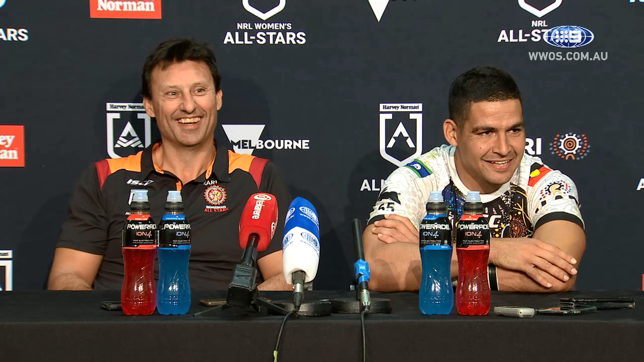 NRL Press Conference: Indigenous All Stars
