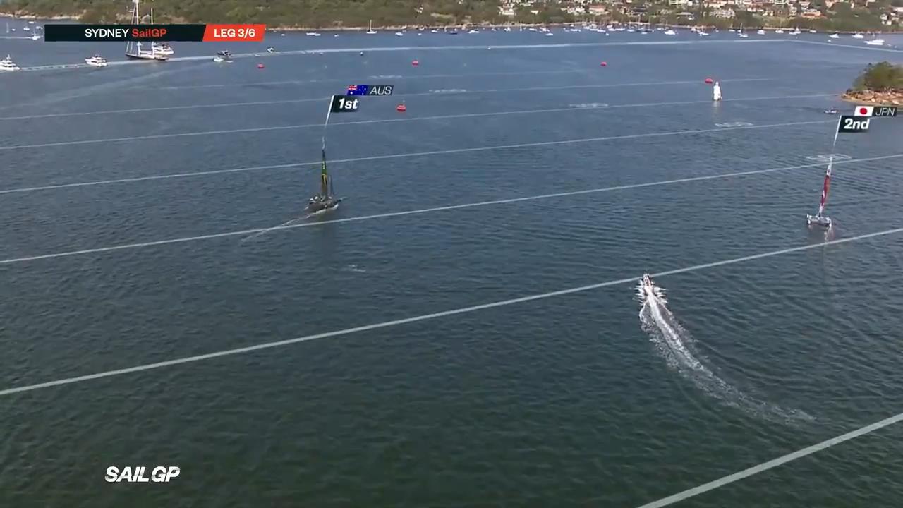 Australia wins first SailGP in Sydney